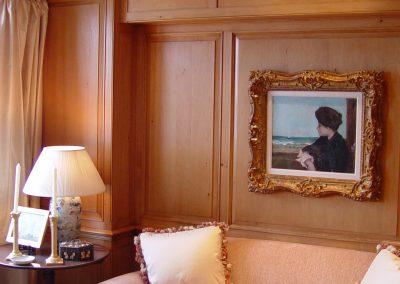 Pine room encasement